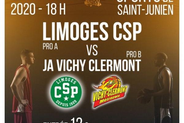 St-Junien : Le Palais des Sport fin prêt à accueillir le CSP Dimanche