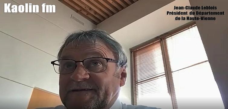 Vidéo : Hausse des bénéficiaires du RSA en Haute-Vienne – L'interview de Jean-Claude Leblois