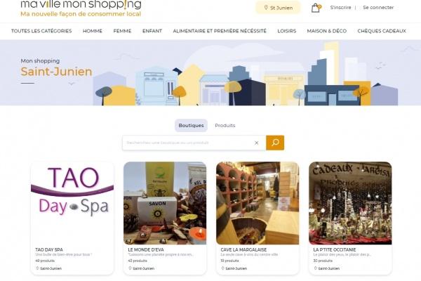 «Ma Ville, Mon shopping» : Saint-Junien offre une vitrine digitale à ses commerces