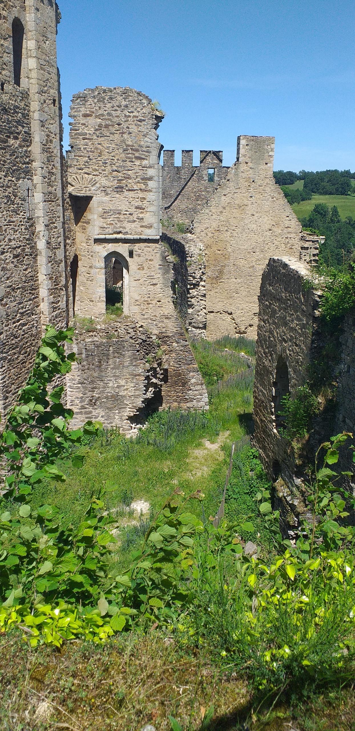 La forteresse de Châlucet, théâtre du prochain Randonnez-vous en Haute-Vienne.
