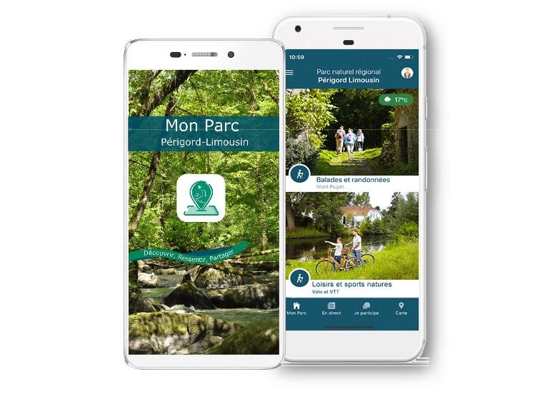 Gardez le contact avec le PNR, avec l'application «Mon Parc».