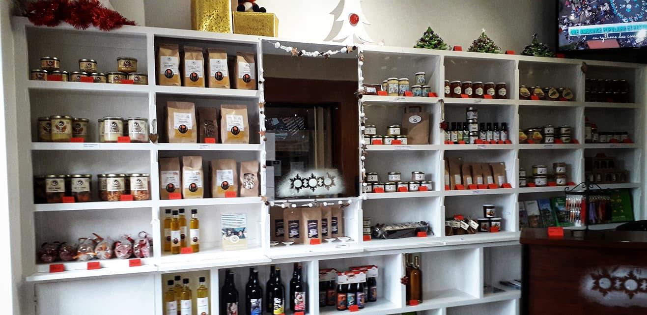 L'Office de Tourisme de St-Yrieix se transforme en boutique, en solidarité avec les artisans et producteurs