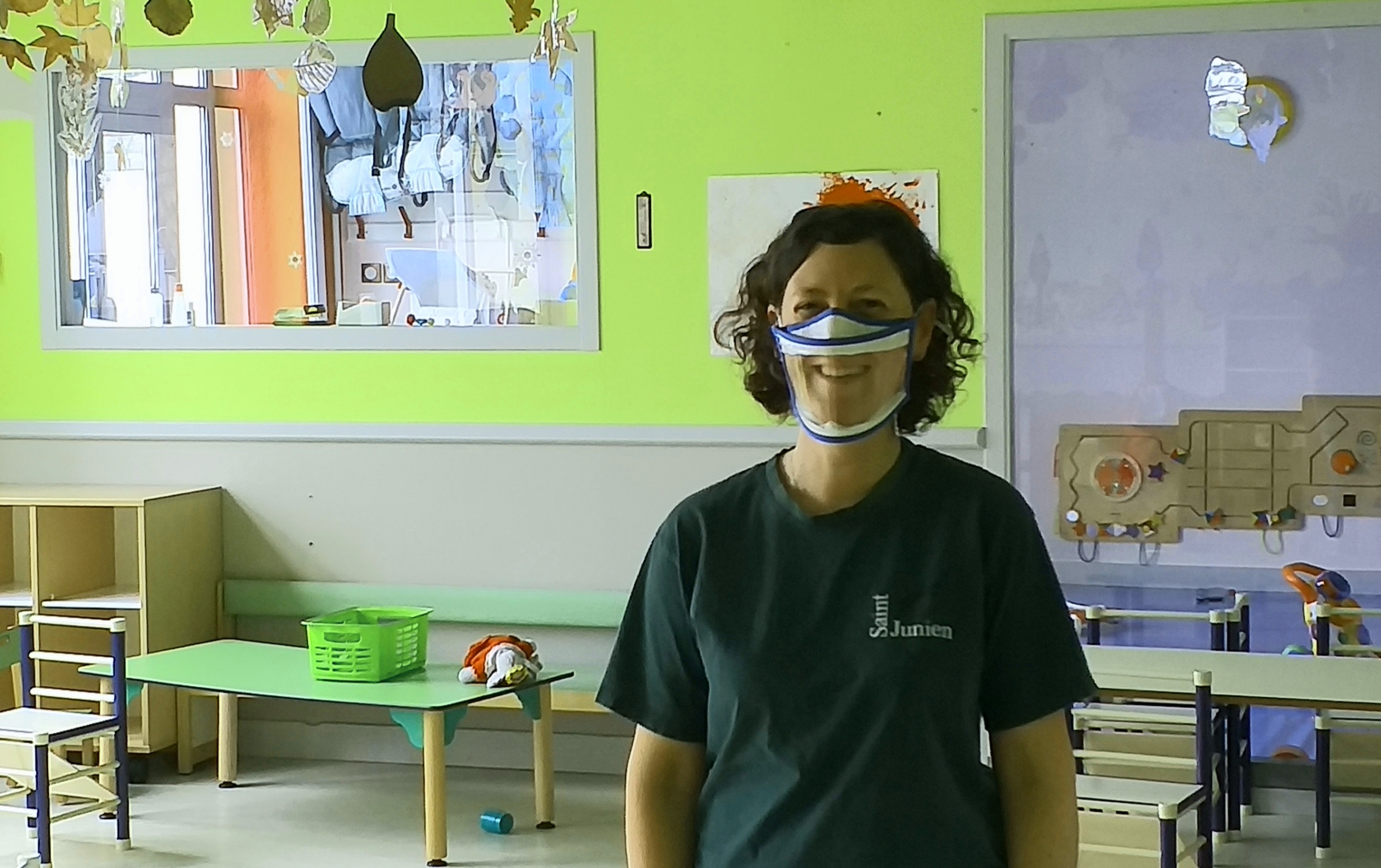 Saint- Junien : le Multi-accueil enfin doté de masques transparents