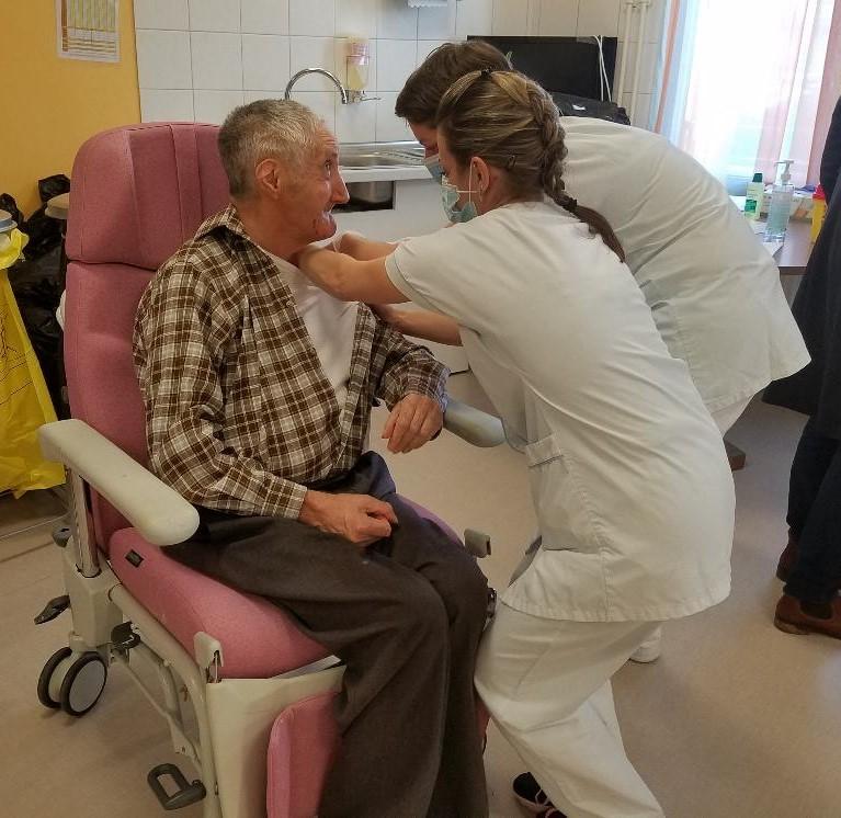 Saint-Yrieix la Perche : la Campagne de vaccination a débuté à l'Hôpital