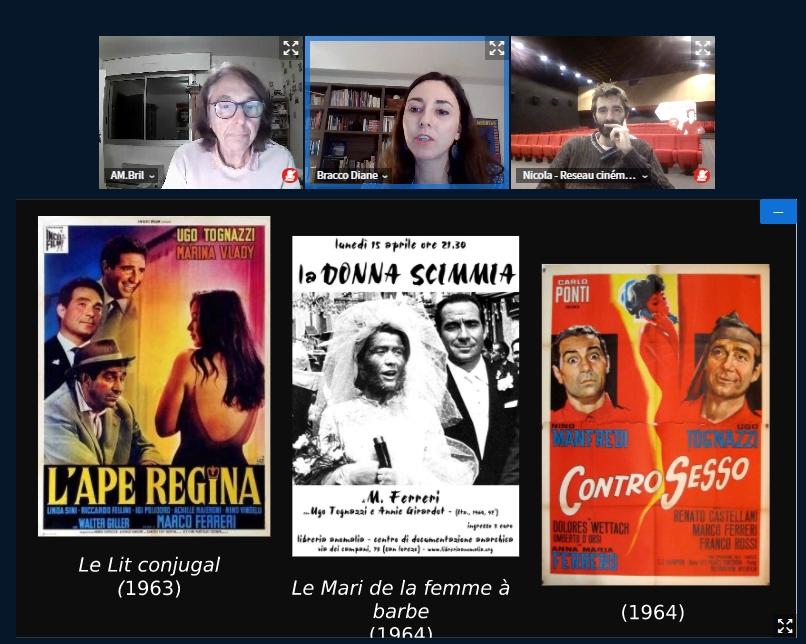Conférence «Apéro Cinéma Italien» : La comédie à l'italienne, qu'est ce qu'il en reste?