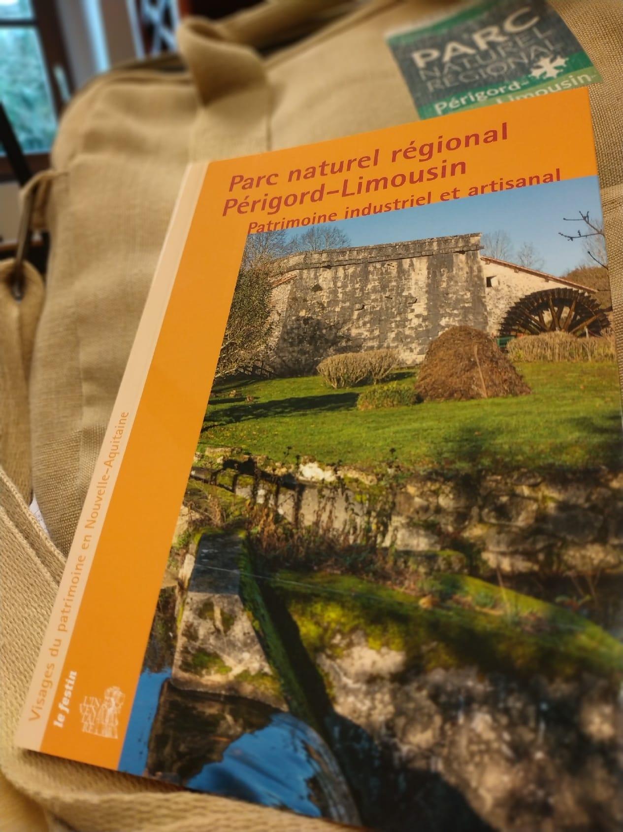 PNR Périgord-Limousin : Le patrimoine industriel et artisanal à découvrir dans un livre