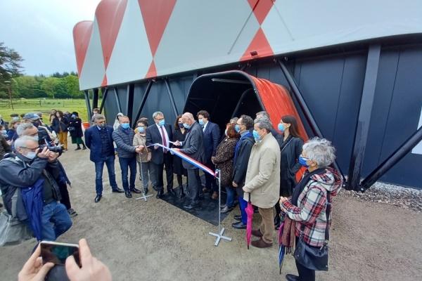 Le nouveau Vaisseau-Chapiteau du Sirque de Nexon (87) officiellement inauguré.