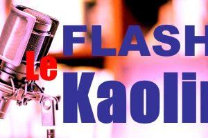 Flash Kaolin : Mardi 21 Septembre 2021