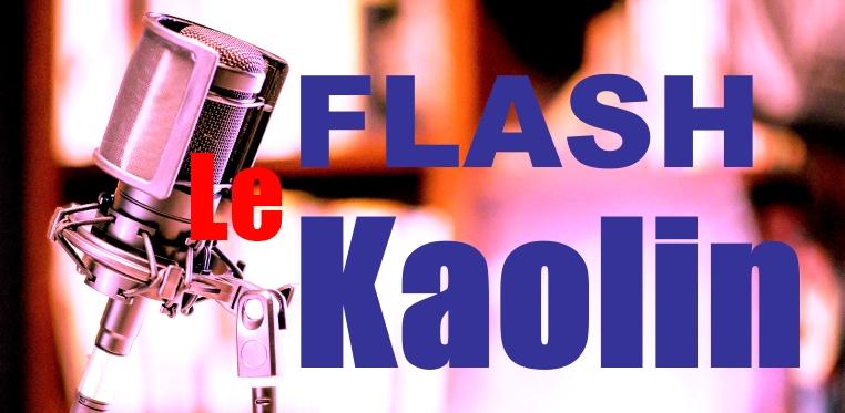 Flash Kaolin : Jeudi 09 Septembre 2021