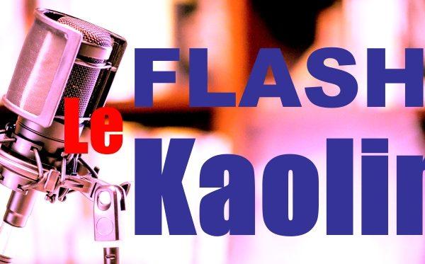 Flash Kaolin – Vendredi 15 Octobre 2021