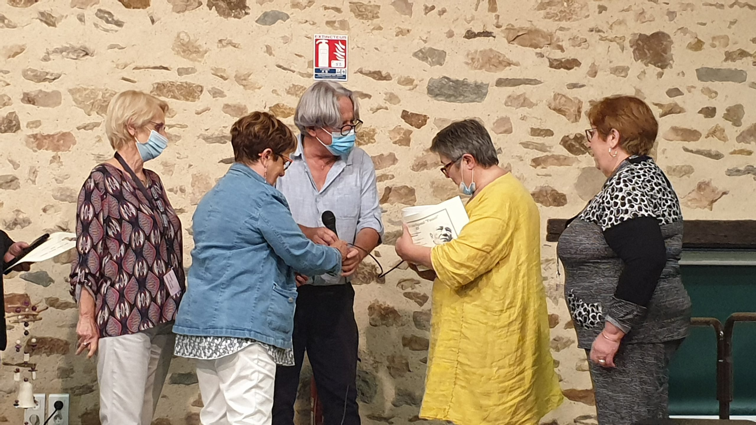 St-Martin de Jussac : le prix Panazö attribué à Régine Rossi-Lagorce