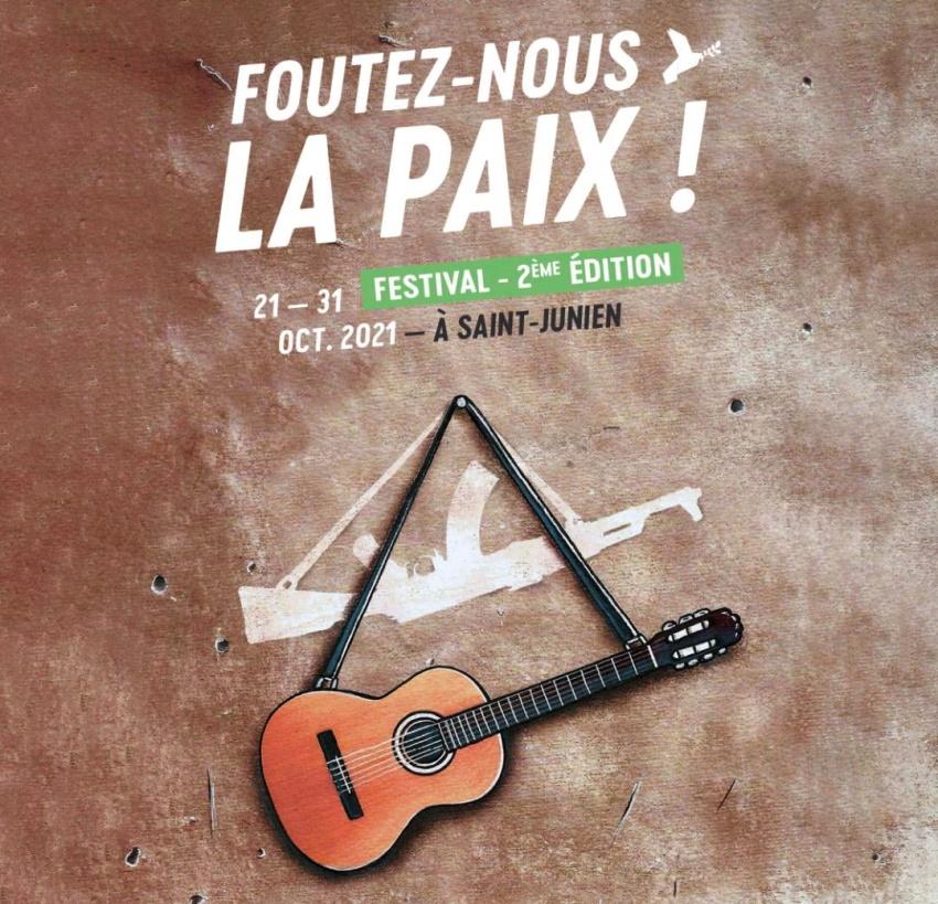 Saint-Junien : un 2ème «Foutez-nous la Paix», du 21 au 31 Octobre