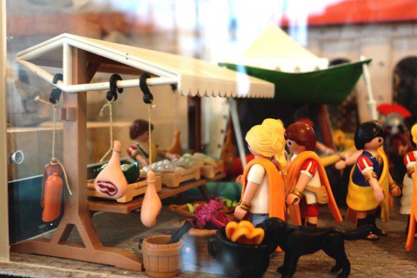 Chassenon (16) : Une Exposition de playmobils pour plonger dans l'Antiquité